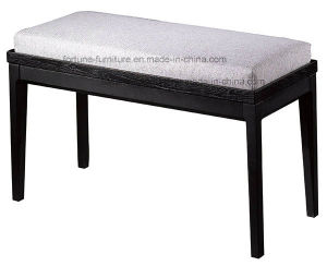 Modern Fabric Upholstered Wooden Dressing Stool (I&D-10526-01) pictures & photos