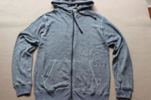 Men Hoodie with Front Zipper in Bamboo 240GSM (OEM) pictures & photos