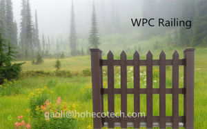 Wood Grain Timber Like Water Proof WPC Products Garden Use Patio WPC Fence pictures & photos