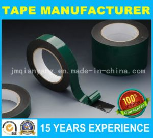 Green Liner PE Foam Tape, Double Sided Adhesive