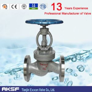 Flanged End Globe Valve with Manual Valve (Class150~600) pictures & photos