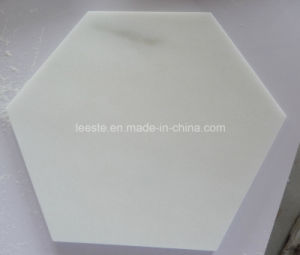 High Quality Eastern White Hexagon Marble Tile pictures & photos