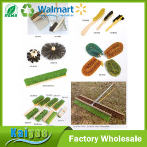 Outdoor / Indoor Wooden Floor Deck Scrub Brush with Handle pictures & photos