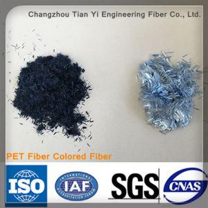 Wholesale Colored Fiber Polyester Staple Fiber Wallpaper Fiber pictures & photos