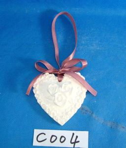 Heart Shape Hanging Ornament with Flowers Decoration pictures & photos