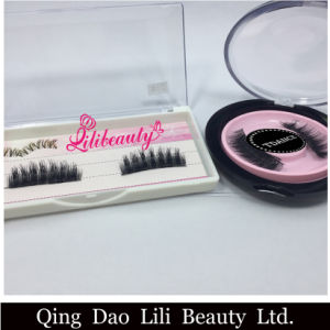 Top Quality Private Label 3D Magnetic Eyelashes Extension 3D Magnet Eyelash Strip Eyelash pictures & photos
