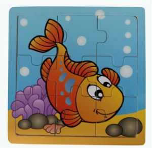 Educational Wooden Jigsaw Puzzle Wooden Toys pictures & photos