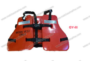 Marine 150n Oil Workers PVC Foam Life Vest Jacket pictures & photos
