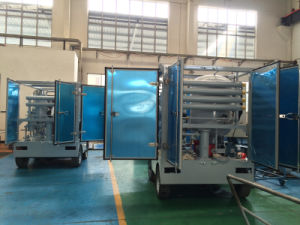 Zjb Series Transformer Oil Recycling Machine with Wheels pictures & photos
