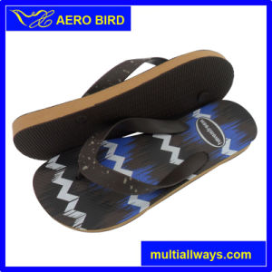 Man PE Flip Flop with New Design Strap (T1632) pictures & photos