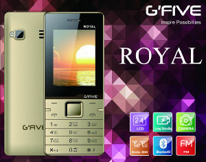 Gfive Royal Feature Phone with FCC, Ce, 3c