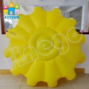 Finego PVC Watermelon Inflatable Water Sunflower Lounge Pool Toy Float pictures & photos