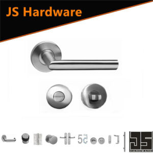 China Fancy Shape Internal Stainless Steel Door Handle pictures & photos