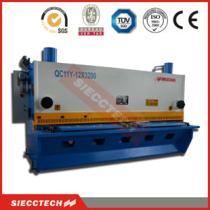 QC11y 6X2500 0.25inch 8feet Hydraulic Hand Guillotine Shear, Nc Manual Plate Electric Hydraulic Shear pictures & photos