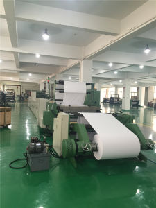 Student Exercise Book Making Machine Flexo Printing and Saddle Stitching Reel to Notebook pictures & photos