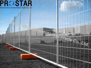 Multi-Purpose Temporary Fence Panel with Safety Orange Feet pictures & photos