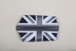 Brand New ABS Plastic UV Protected Sporty Black Union Jack Color Style with High Quality Door Inner Handle Covers for Mini Cooper R56 pictures & photos
