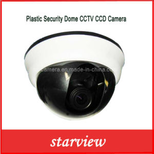 Plastic Security Dome CCTV CCD Camera (SV60-D1860MV) pictures & photos