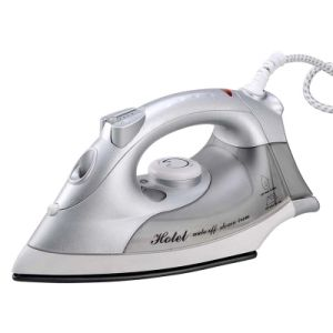 Auto Shut-off 220-240V 1600W Silver Steam Iron with Euro Plug pictures & photos