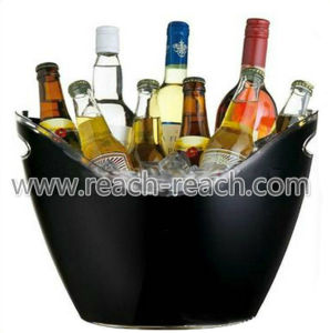 8L Big Size Double Wall Plastic Ice Bucket (R-IC0145) pictures & photos