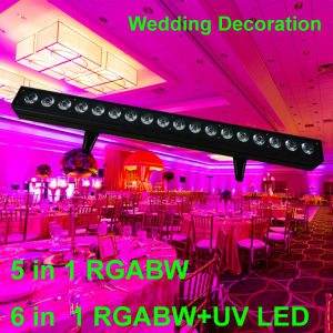 Whosale Indoor Wall Washer Rgabw 5in1 Wedding Party Decoration