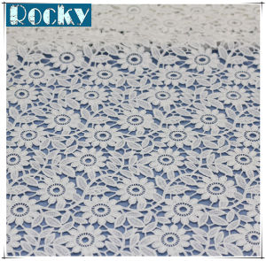 Factory Price Lace Fabric Cotton Embroidery Lace for Garmet pictures & photos
