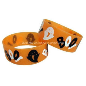 Custom Printing Emoji Silicone Bracelet for Event pictures & photos