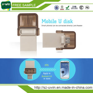 Mini Waterproof 8GB OTG USB Flash Drive pictures & photos