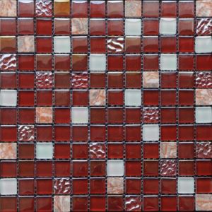 Chinese Style Crystal Mosaic Mix Marble pictures & photos