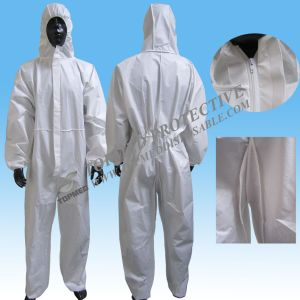 Hot Sale Waterproof Disposable Tyvek Coverall, Microporous Coverall for Industrial pictures & photos