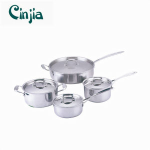 fashion 304 Stainless Steel Cookware Set pictures & photos