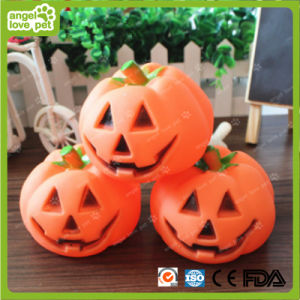 Vinyl Pumpkin Squeaky Toys Pet Chew Product pictures & photos