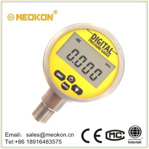 Economical Digital Gas Pressure Meter/Gauge with ISO Certificates Shanghai pictures & photos