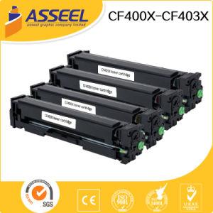 2017 New Compatible Toner Cartridge CF400A CF400X Series for HP Color Laserjet PRO M252 277 pictures & photos