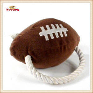 Pet Plush Toy Rugby Style Dog Toy (KB0027) pictures & photos