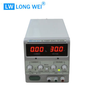PS303dm 30V 3A Variable Linear DC Power Supply with Alligator Cable and Power Cord pictures & photos