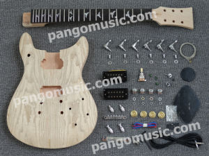 Pango Prs Style DIY Electric Guitar Kit / DIY Guitar with Ash Burl Maple (PRS-531K) pictures & photos