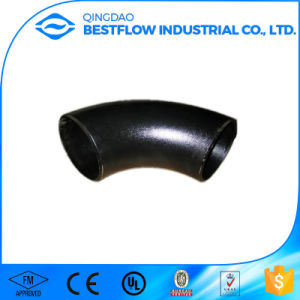 Black Carbon Steel Butt Welded Pipe Fitting pictures & photos