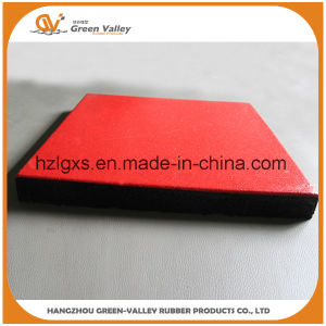 Sound Insulating Gym Rubber Floor Tiles Rubber Mats pictures & photos