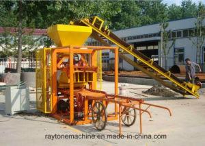 Qt4-26 Manual Cement Block Making Machine Hollow Brick Forming Machine pictures & photos