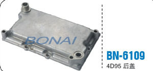 Komatsu Truck Parts, Engine Oil Cooler Cover 6D155 (OEM: 6127-61-2113) , Car Radiator pictures & photos
