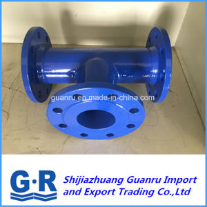 Ductile Cast Iron Fitting with All Flanged Tees pictures & photos