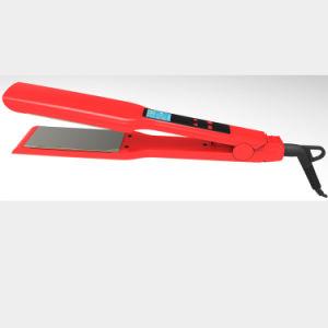 Touch Vibrating Hair Straightener Iron Titanium