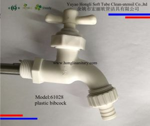 61023 T Handle Plastic Bibcock, Plastic Faucet, PVC Faucet pictures & photos