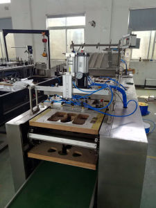 Auto Filling Auto Sealing Battery PVC Papercard Blister Packing Machine pictures & photos