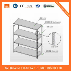 Slot Angel Shelf Display Stand Grey Color with Ce Approved pictures & photos