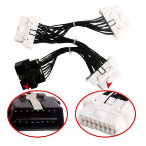 1 to 3 16 Pin Splitter Extension Connector Adapter Wire Harness for Car pictures & photos