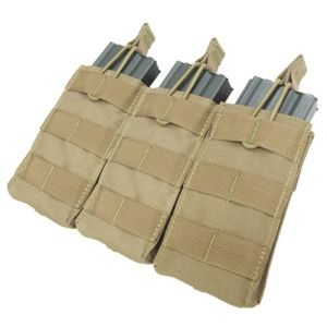 Airsoft Molle Triple Magazine Open Top Pouch pictures & photos