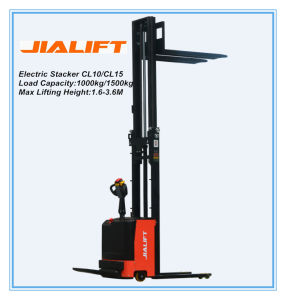 Electric Stacker CL1532 pictures & photos