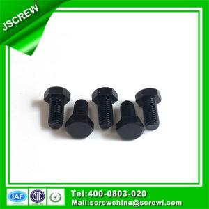 Carboon Steel Black Hex Head M10*20 Machine Screw pictures & photos